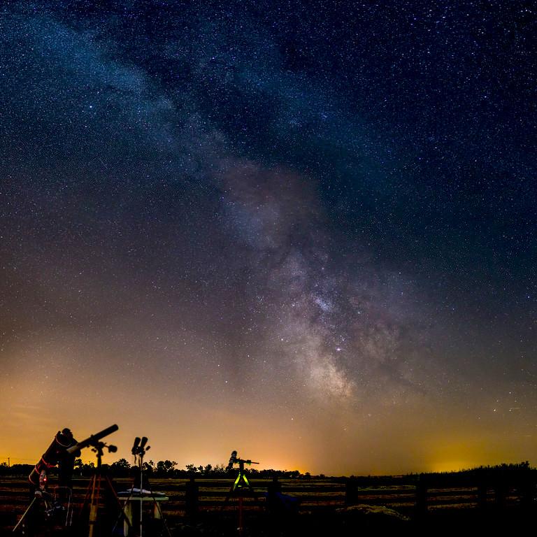 Éjszakai fotózás Tejút