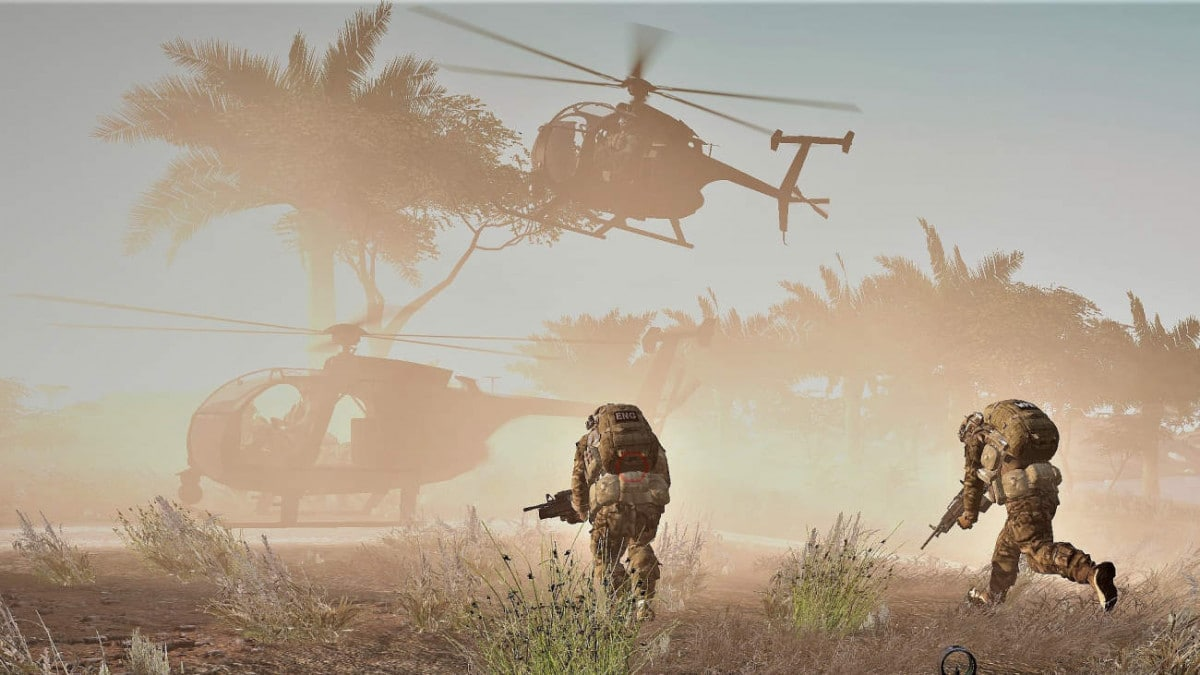 ArmA 3 Sandstorm script Little Bird