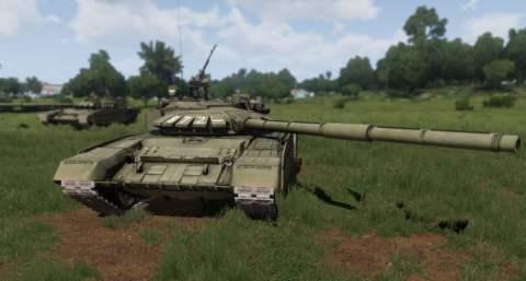 T 72 RHS TANK Platoon
