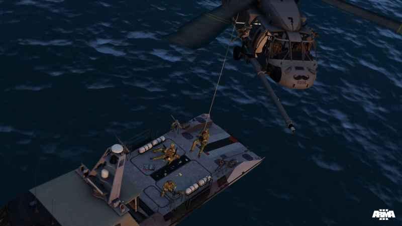 ArmA 3 Clan Pilot Yax Blackhawk