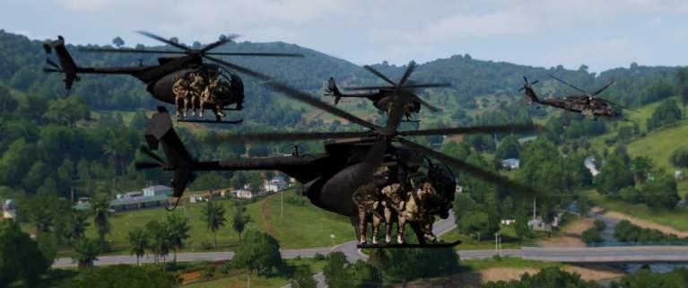 ArmA 3 Clan Contact Milsim Air Cav