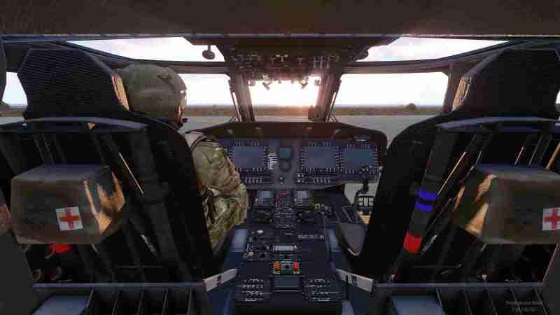 Arma 3 cockpit