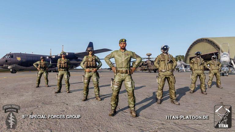 ArmA 3 Clan MilSim - Pilot Career