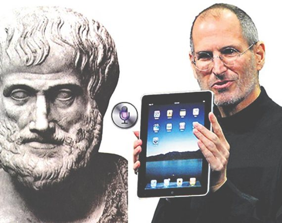 Siri Comes To iPad Because of Steve Jobs and Aristotle