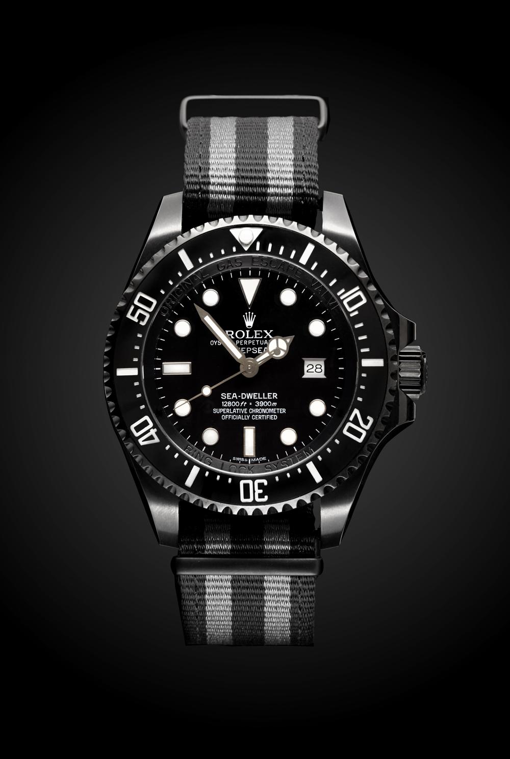 Rolex Deep Sea Fathom Titan Black