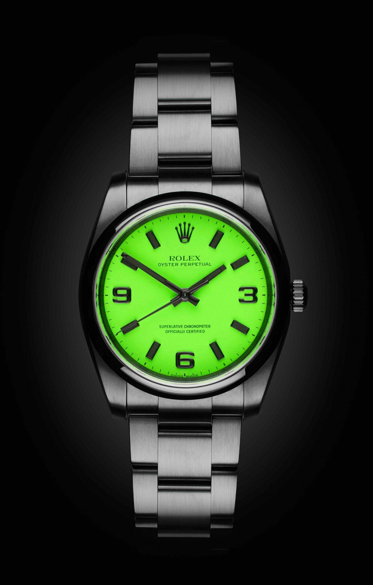 The Beach Collection Neon Green Titan Black