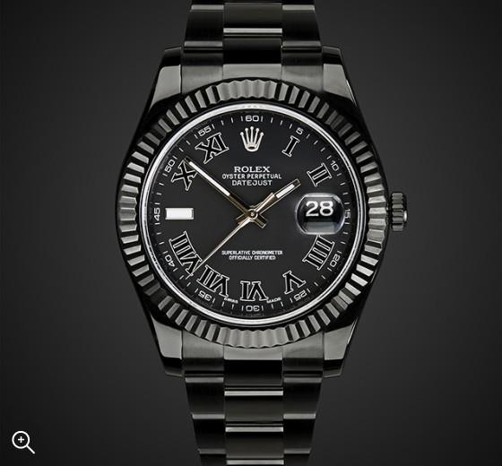 Rolex Datejust II Nero Titan Black