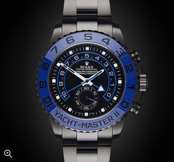 Rolex Yacht Master II MKII Titan Black