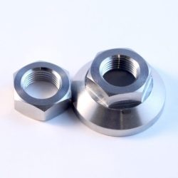 mini titanium clutch lockout nuts