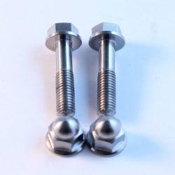 MC28 titanium fairing brace bolts