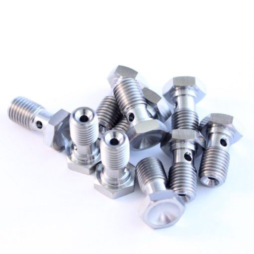 Suzuki fitting TITANIUM banjo bolt 09360-10042