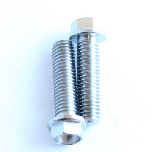 M8 x 30mm TITANIUM flange bolt