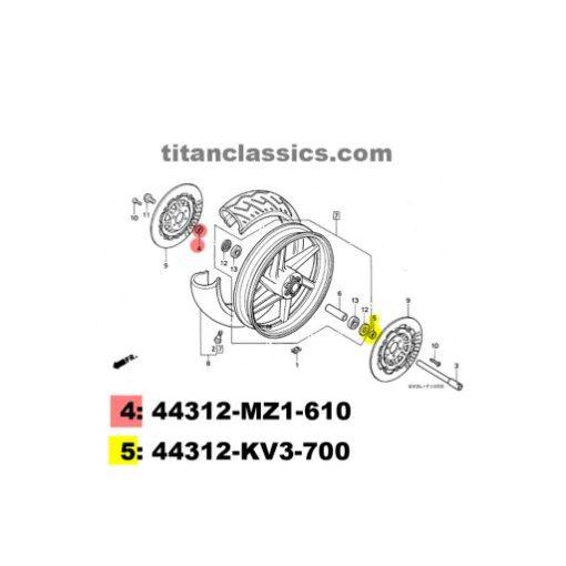 titanium wheel spacers
