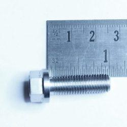 5/16unf x 1inch titanium bolt