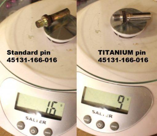 Weight comparison 45131-166-016