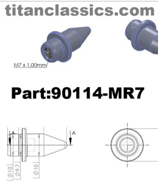 90114-MR7 titanium bolts
