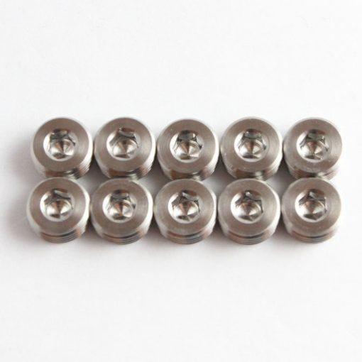 TITANIUM Caliper pad pin cap