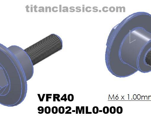 TITANIUM VFR400 cam cover bolt