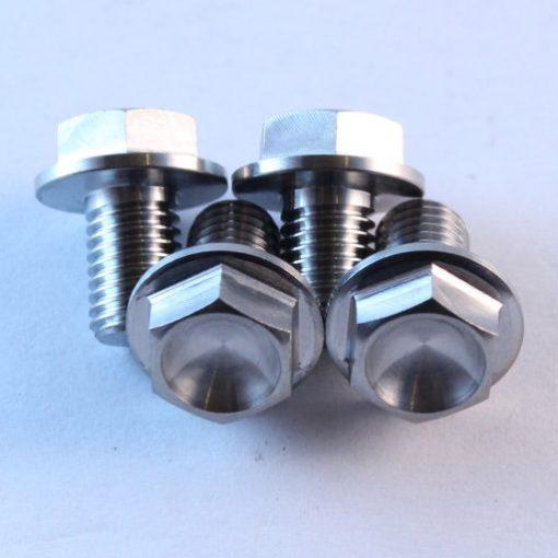 m7 x 10mm x 4 TITANIUM bolts