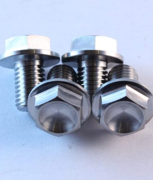 m7 x 10mm x 4 TITANIUM bolts