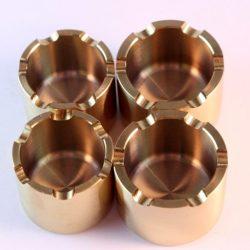 4 x Titanium caliper pistons