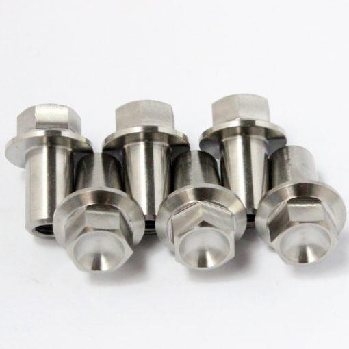 rd350 TITANIUM nuts x 6