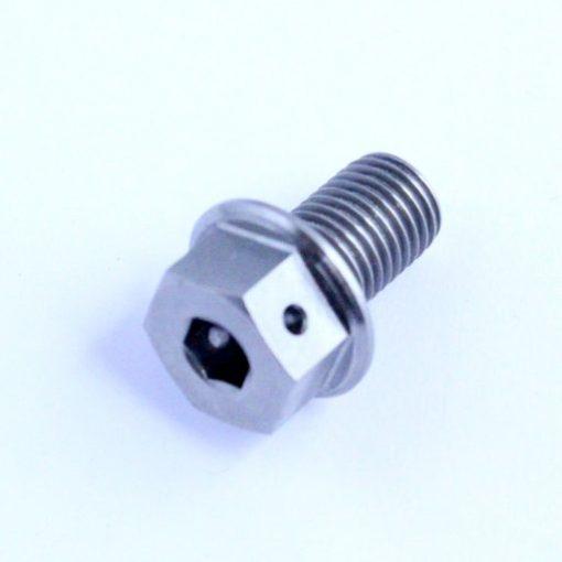 m10 TITANIUM sump plug