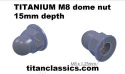 TITANIUM deep m8 dome