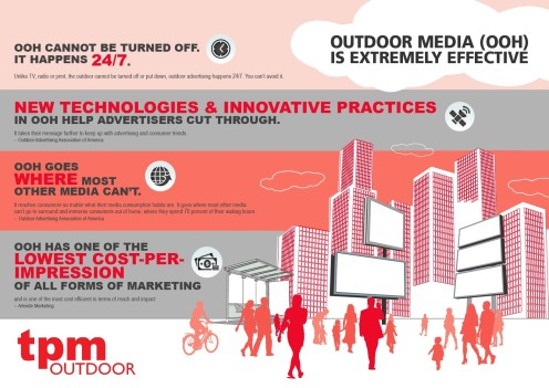 Reasons Outdoor Media is Effective Infographics TPMOutdoor