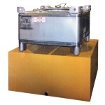 Stainless IBC Tote Basin