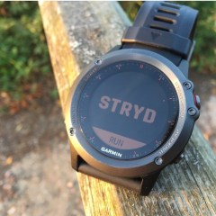 Stryd Garmin Connect IQ app testing