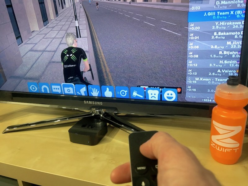 TitaniumGeek IMG 3772 Zwift Apple TV   Zwift Completes iOS rollout   ZwiftGearTest Cycling Gear Reviews Zwift  ZwiftGearTest Zwift iOS Zwift ios games cycling   Image of IMG 3772