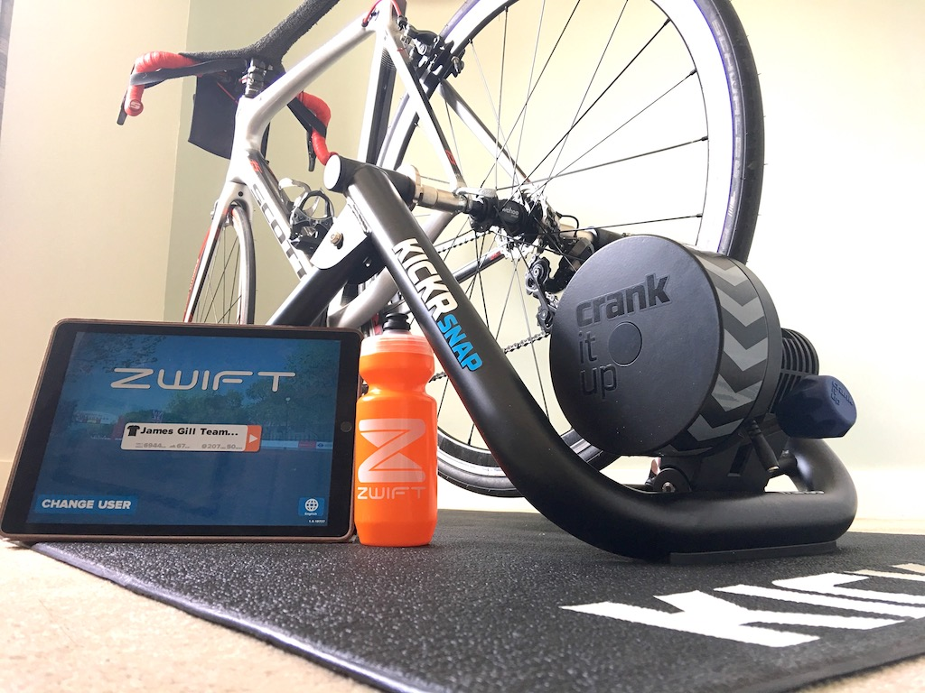 TitaniumGeek IMG 2017 2 Wahoo KICKR SNAP 2017 Review   Zwift Gear Test Cycling Gear Reviews Smart Trainers Zwift  Zwift Gear Test Zwift Wahoo Turbo Trainer power meter KICKR   Image of IMG 2017 2
