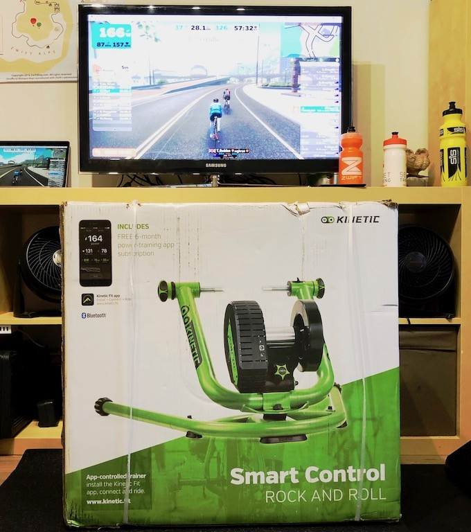TitaniumGeek IMG 5316 Kurt Kinetic Rock and Roll Smart Control Trainer Review | Zwift Gear Test Cycling Gear Reviews Smart Trainers Zwift  Zwift Gear Test Zwift Smart trainer power meter Kurt Kinetic   Image of IMG 5316