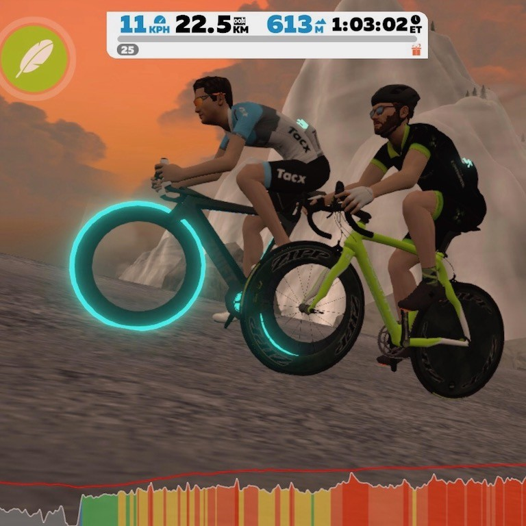 TitaniumGeek IMG 2376 Tacx Neo vs Wahoo KICKR 2017   Zwift Turbotrainer Wars!! Cycling Gear Reviews Zwift  Zwift Wahoo KICKR Wahoo TacX Neo Tacx indoor cycling   Image of IMG 2376