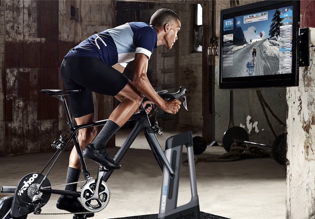 TitaniumGeek Wahoo KICKR CLIMB Zwift 2 Tacx Neo vs Wahoo KICKR 2017   Zwift Turbotrainer Wars!! Cycling Gear Reviews Zwift  Zwift Wahoo KICKR Wahoo TacX Neo Tacx indoor cycling   Image of Wahoo KICKR CLIMB Zwift 2