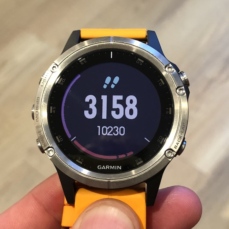 TitaniumGeek IMG 0147 Garmin Fenix 5 Plus Review: When More Can Mean Less Cycling Gear Reviews Heart Rate Monitors Running  Triathlon smart watch running Optical Heart Rate garmin Fenix cycling   Image of IMG 0147