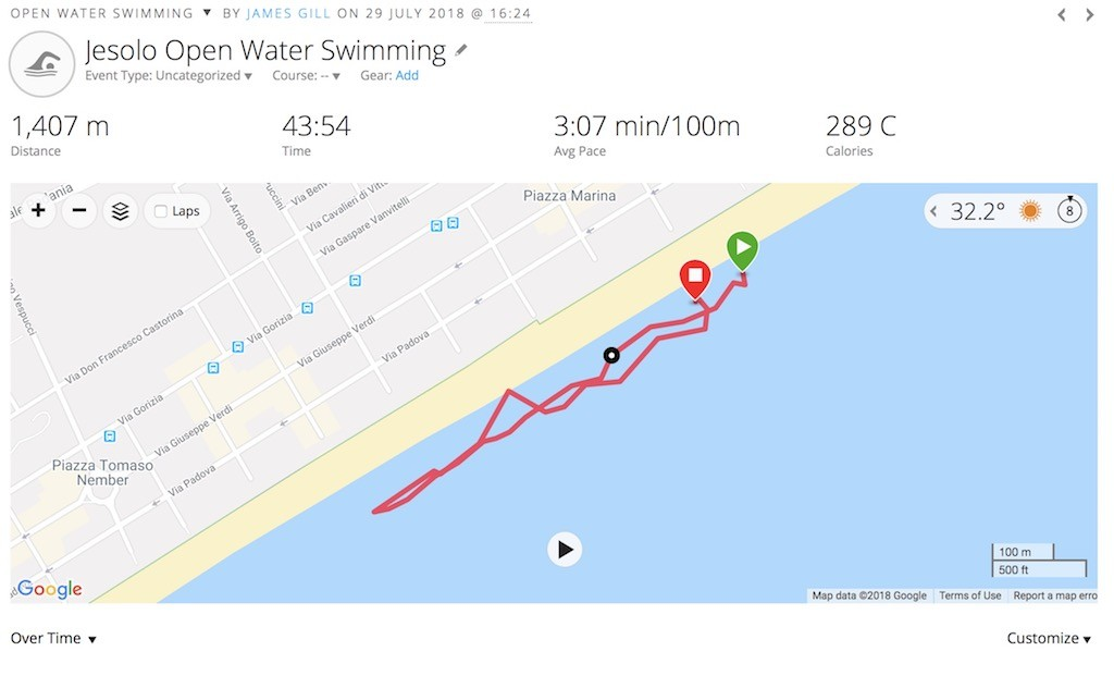 TitaniumGeek Screen Shot 2018 08 10 at 19.32.49 Suunto 9 Multisport GPS Watch Review   Biggest Battery Wins! Cycling Gear Reviews Heart Rate Monitors Running Sports Watches  watch Suunto running optical HRM multisport HRM GPS   Image of Screen Shot 2018 08 10 at 19.32.49