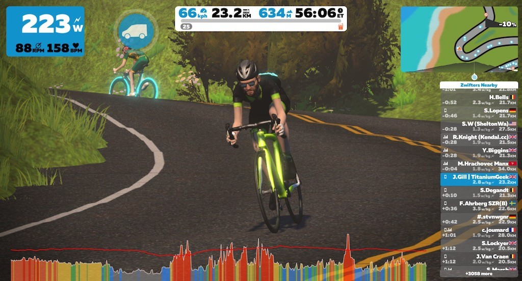TitaniumGeek IMG 4598 Elite Drivo II Preview and Factory Visit 2018 Cycling Gear Reviews Smart Trainers Zwift  Zwift Turbo Trainer elite Drivo II Drivo direto   Image of IMG 4598