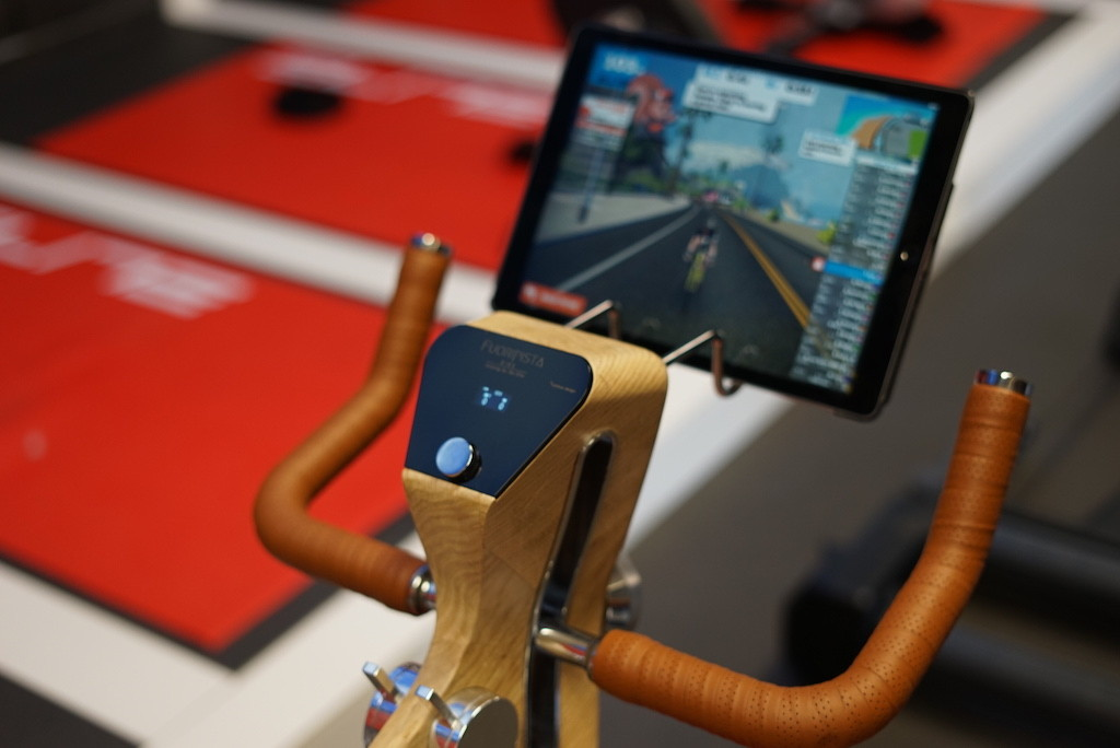 TitaniumGeek LRG DSC09462 Elite Drivo II Preview and Factory Visit 2018 Cycling Gear Reviews Smart Trainers Zwift  Zwift Turbo Trainer elite Drivo II Drivo direto   Image of LRG DSC09462