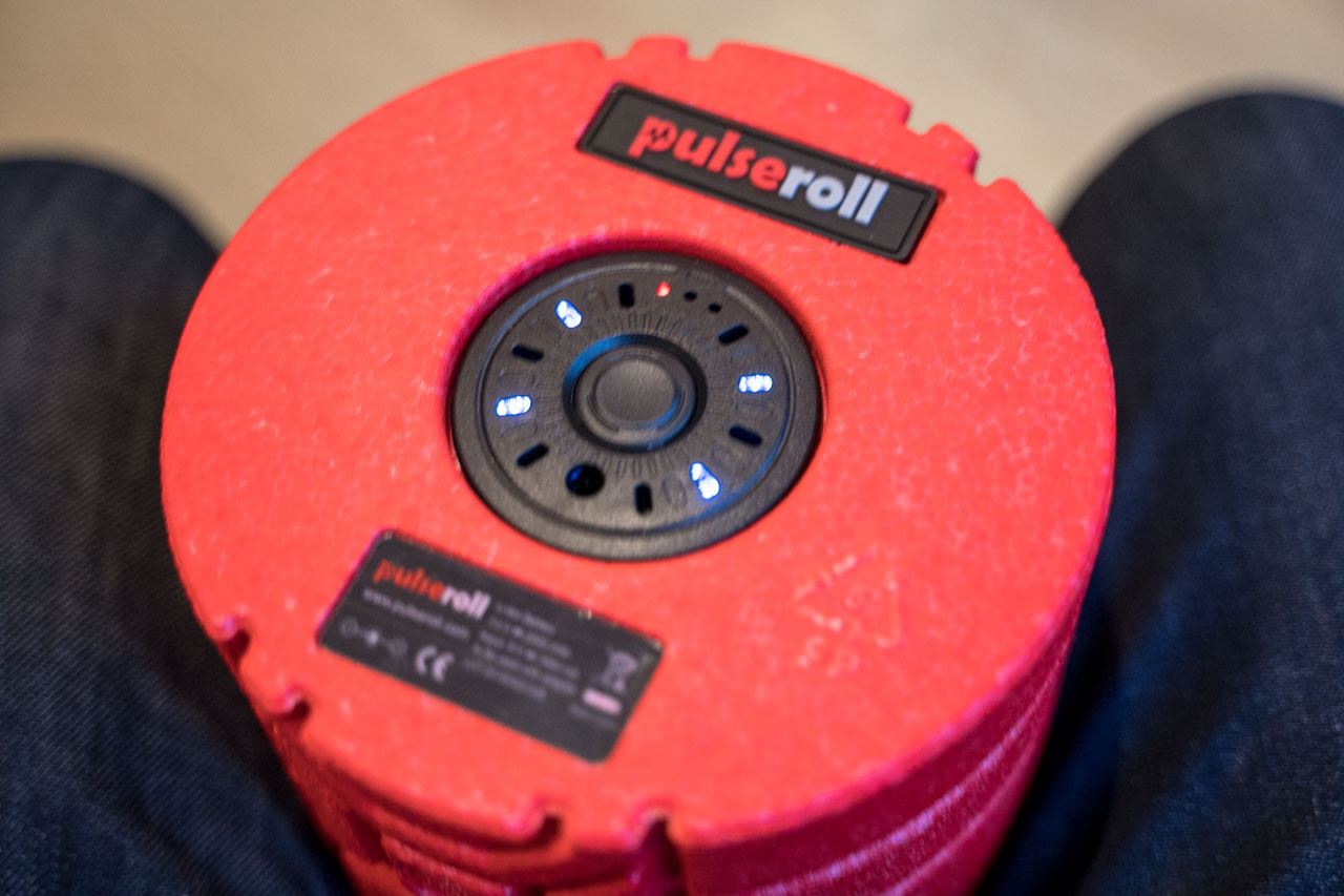 TitaniumGeek PulseRoll 172 Pulseroll Review   A Vibrating Foam Roller Gear Reviews    Image of PulseRoll 172