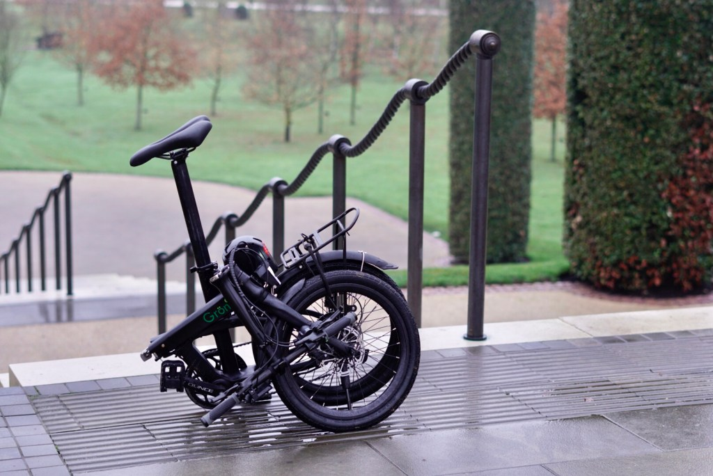 TitaniumGeek A650042 The Gron eBike has us pondering on how to report on eBike tests... Cycling eBike eBike  Sustainable transport Gron ebike Gron folding bikes folding bike eBikes ebike commuting   Image of A650042