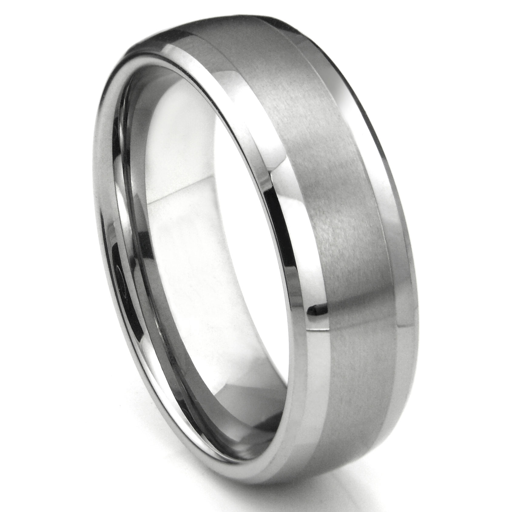 This is an image of Steel Wedding Band. womens stainless steel wedding bands ebay