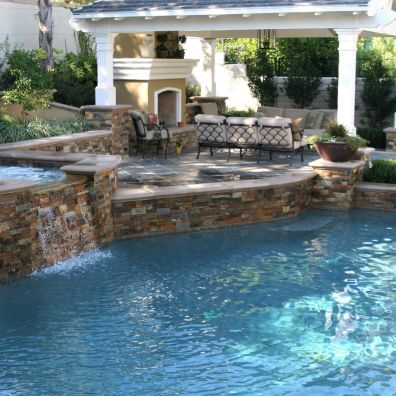 custom pool orange county