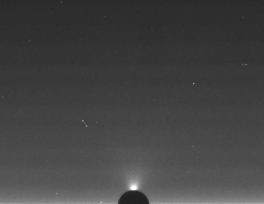 Enceladus' water jets