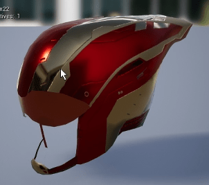 Masque Gargoyle or style iron Man