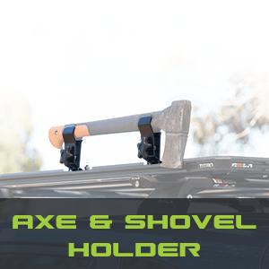 Axe & Shovel Holder