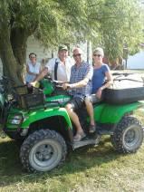 Ilse en Luc tractor