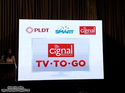Real-time Digital TV Comes to your Smartphone with Cignal's TV-to-Go Service