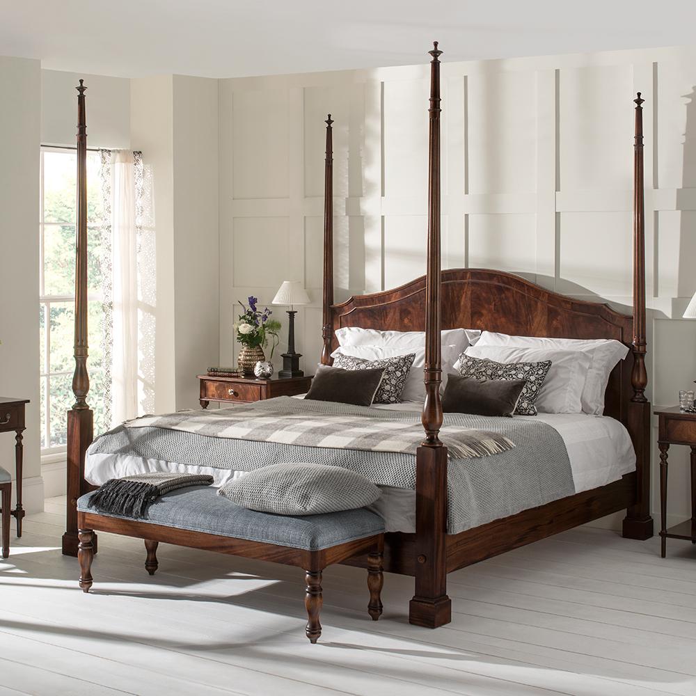 mahogany 4 poster bed titchmarsh